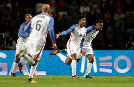 4576c55f0 Teenager McKennie scores debut goal as U.S. hold Portugal