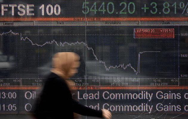 <p>FTSE 100 has reached 40 per cent higher from the lows of March 2020</p> (SHAUN CURRY/AFP/Getty Images)