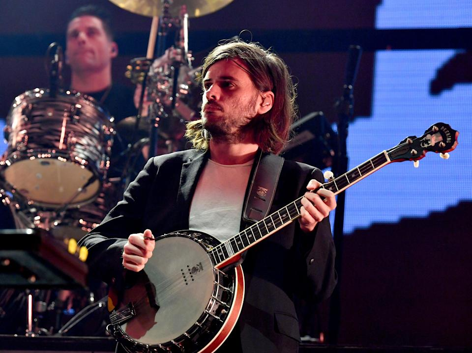 Winston Marshall of Mumford & Sons performs onstage during KROQ Absolut Almost Acoustic Christmas 2019 (Getty Images for KROQ)