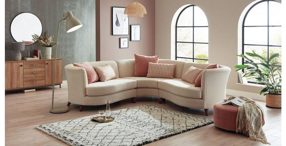 """<p>Classic cream was not as highly sought-after as one might expect. A brilliant neutral base from which to build, with warm undertones that invite richly patterned textiles, colourful accessories, and reddish woods.</p><p>Pictured: <a href=""""https://www.dfs.co.uk/ivy/ivy1zsivy?origin=All_Fabric_Sofas"""" rel=""""nofollow noopener"""" target=""""_blank"""" data-ylk=""""slk:Ivy 3 Seater Sofa at DFS"""" class=""""link rapid-noclick-resp"""">Ivy 3 Seater Sofa at DFS</a></p>"""