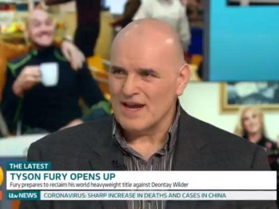 John Fury first noticed mental health issues in his son Tyson at 10 years old (Good Morning Britain/ITV)
