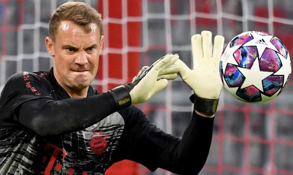 Manuel Neuer is closing in on 100 caps for his country