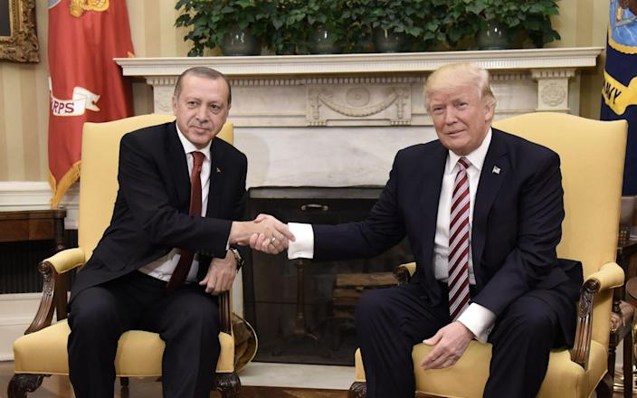 Turkey has been a rare ally in the US decision to withdraw from Syria - AFP