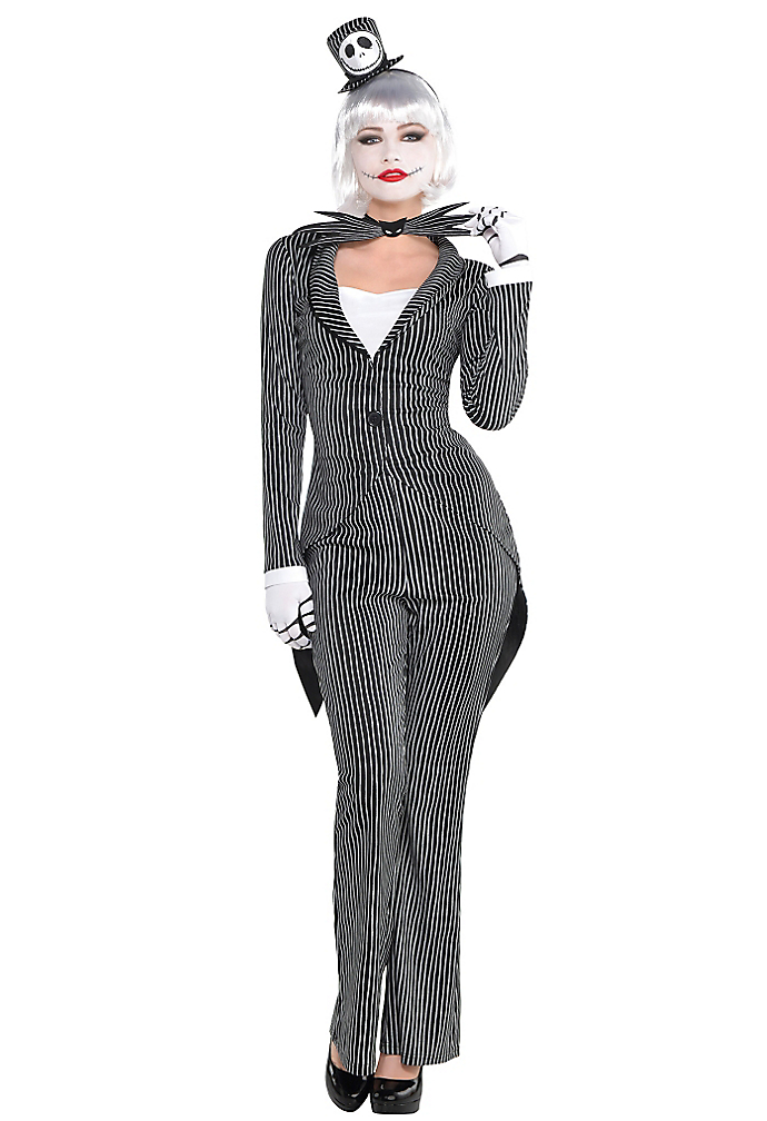 """<p>Why yes, <a href=""""http://www.partycity.com/product/adult+lady+jack+skellington+costume+the+nightmare+before+christmas.do?sortby=ourPicks&page=2&navSet=110777"""" rel=""""nofollow noopener"""" target=""""_blank"""" data-ylk=""""slk:this racy take on Jack Skellington"""" class=""""link rapid-noclick-resp"""">this racy take on Jack Skellington</a> <em>did</em> give us nightmares before Christmas.<br>(Photo: Partycity.com) </p>"""