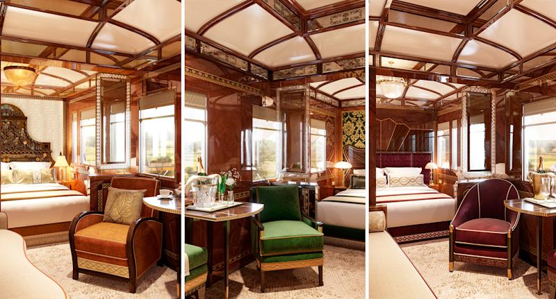 The Orient Express has introduced three new grand suites [Photo: Belmond]