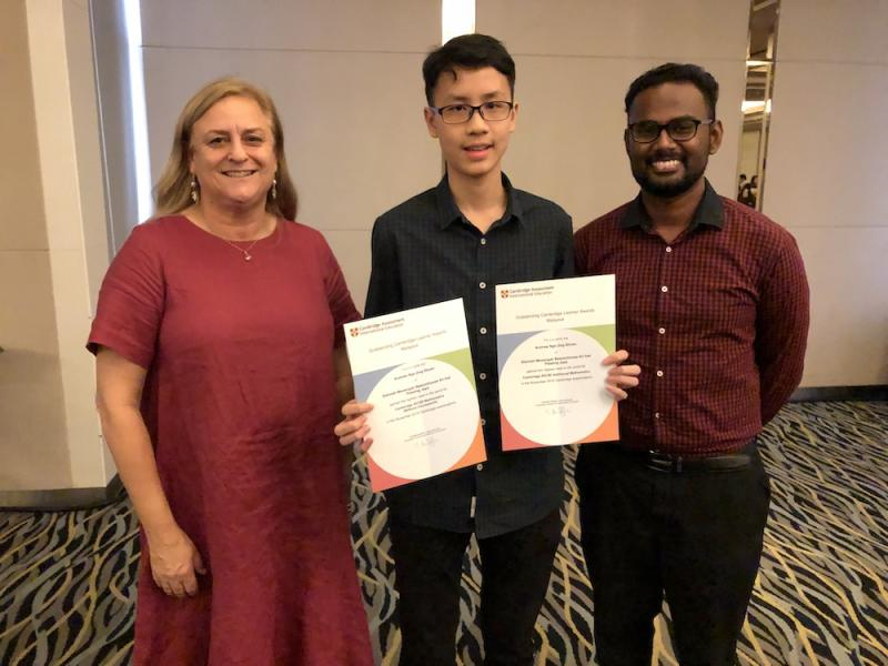 Malaysians were more than impressed when Andrew Nge put Malaysia on the global academic map when he became the top math student in the world. — Picture courtesy of Beaconhouse Sri Inai International School