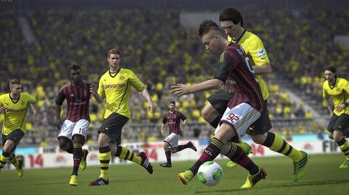 Screenshot from FIFA game