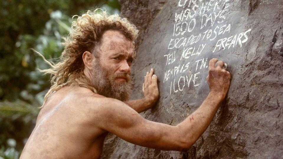 Tom Hanks in <i>Cast Away</i>. (20th Century Fox/DreamWorks)