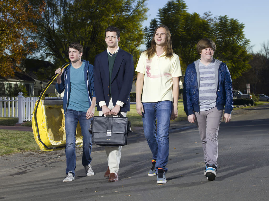 """The Inbetweeners"" (MTV)"