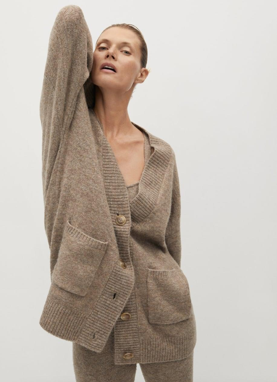 <p>This <span>Mango Button Knit Cardigan</span> ($36, originally $60) is a layer you'll reach for every day.</p>