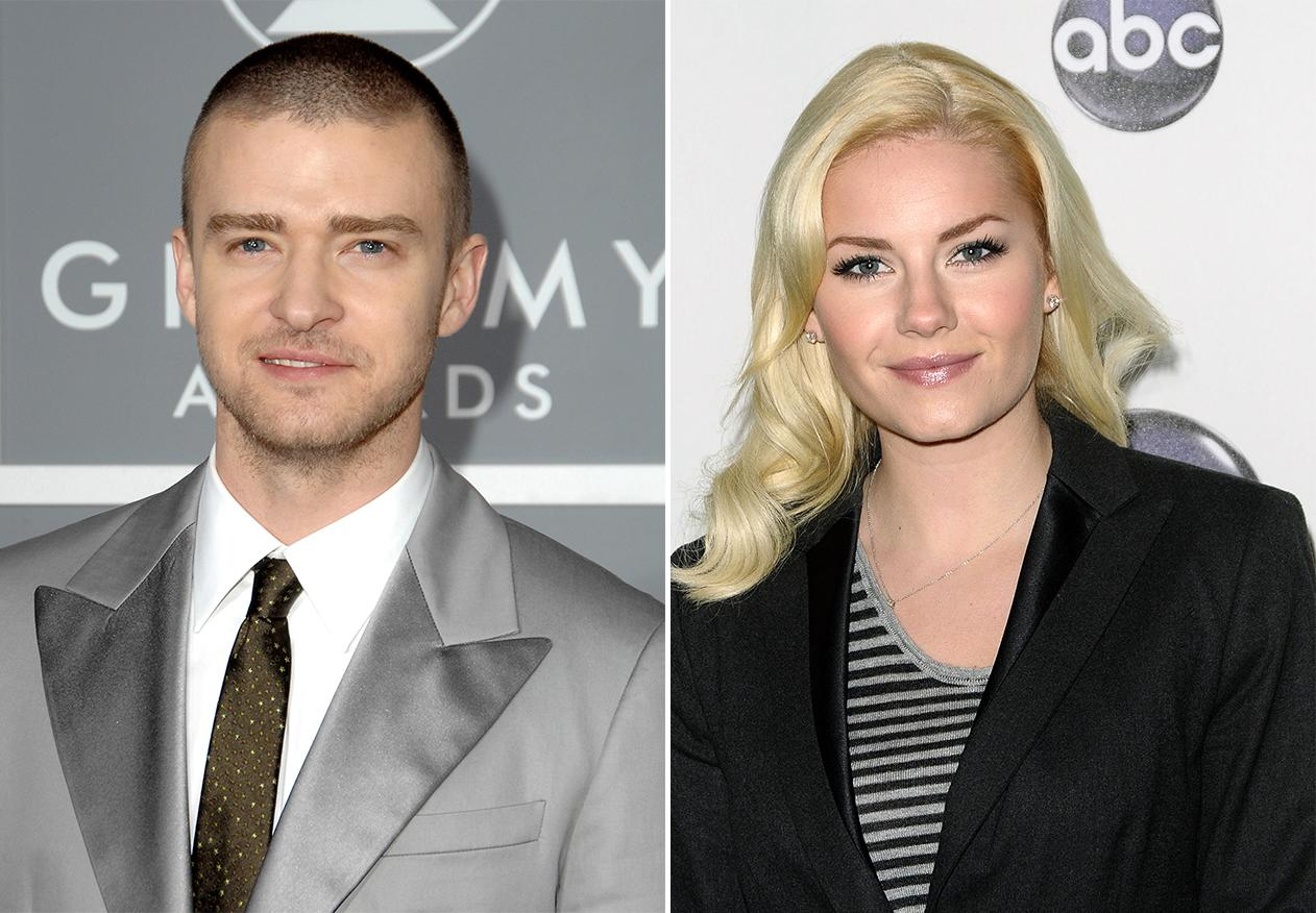 """Justin Timberlake didn't have love on his mind when it came to the song """"What Goes Around … Comes Around."""" He was said to have written it about actress Elisha Cuthbert, after she and his close friend broke off their engagement."""