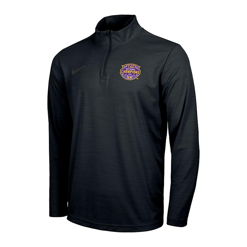 Nike LSU College Football Playoff 2019 National Champions Quarter-Zip Jacket