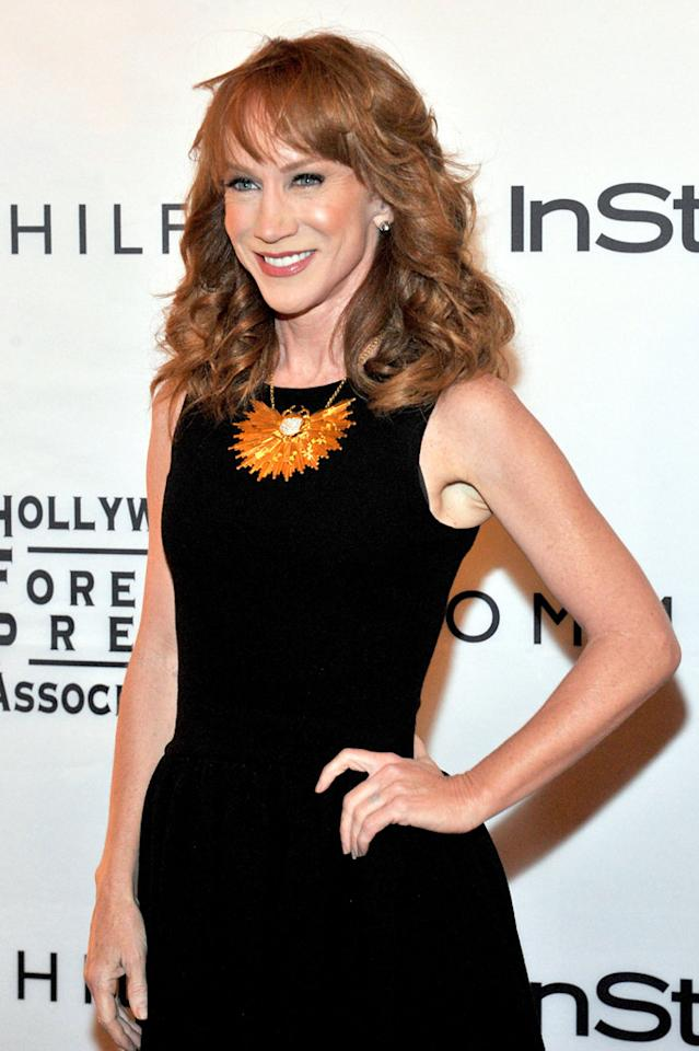 Kathy Griffin's birthday is November 3. She turns 51. (09/13/2011)