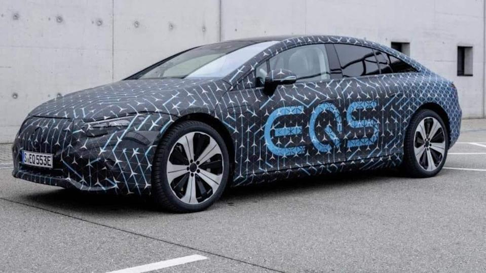 Prior to debut, Mercedes-Benz reveals technical specifications of EQS sedan