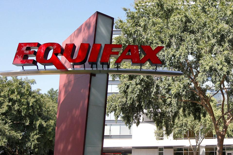 Equifax shares were halted in pre-market trading on Tuesday.