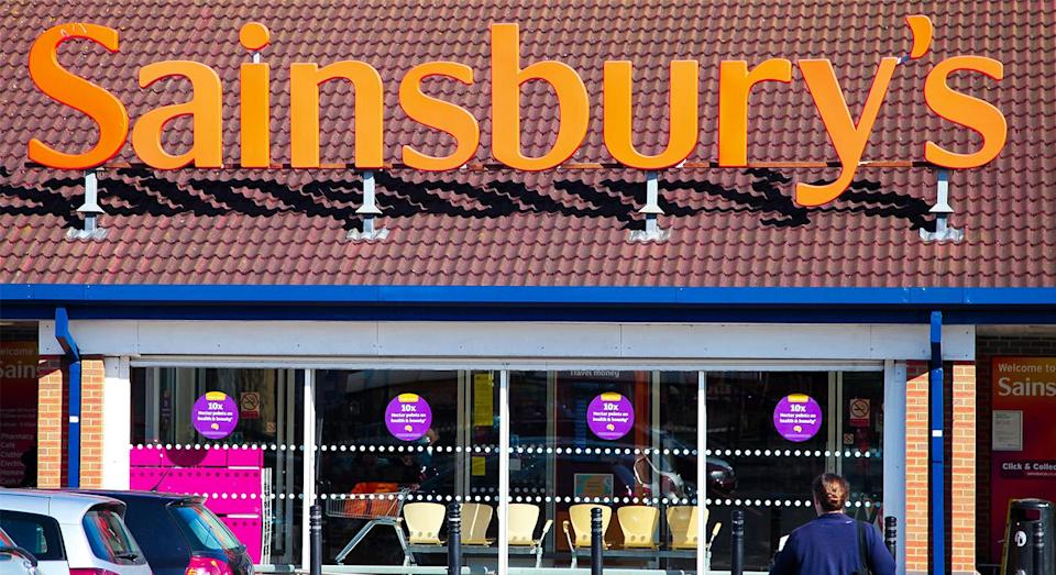 Sainsbury's has now rolled out in-store 'wellness' aisles. [Photo: Rex]