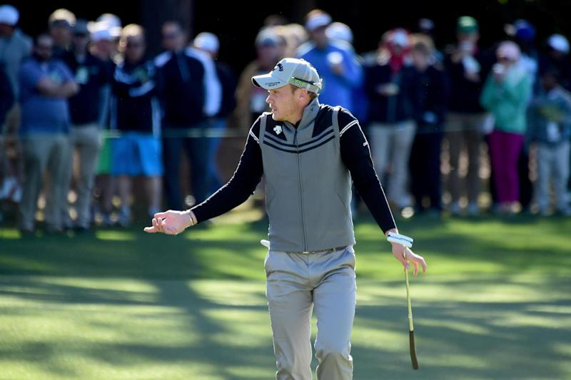 Off the pace: Defending champion Danny Willett: Getty Images
