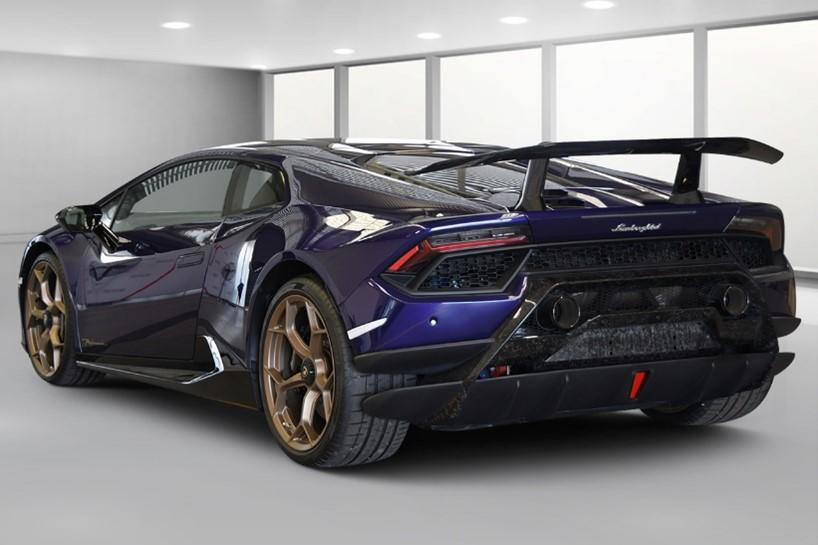 The bidding for the Lamborghini will start at $390,000. Source: Queensland Police