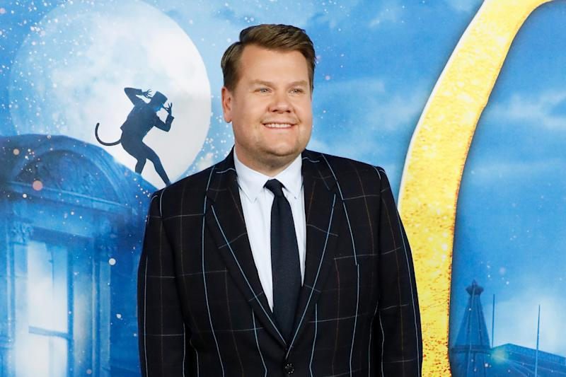 "NEW YORK, NEW YORK - DECEMBER 16: James Corden attends the world premiere of ""Cats"" at Alice Tully Hall, Lincoln Center on December 16, 2019 in New York City. (Photo by Taylor Hill/FilmMagic)"
