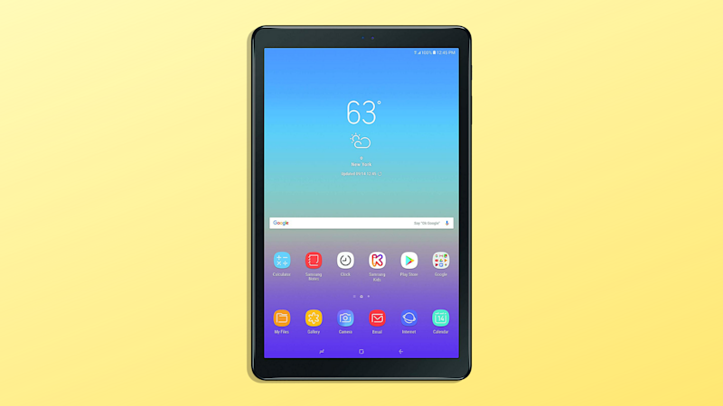 Save $130 on the Samsung Galaxy tab A (Photo: Amazon/Yahoo Lifestyle)