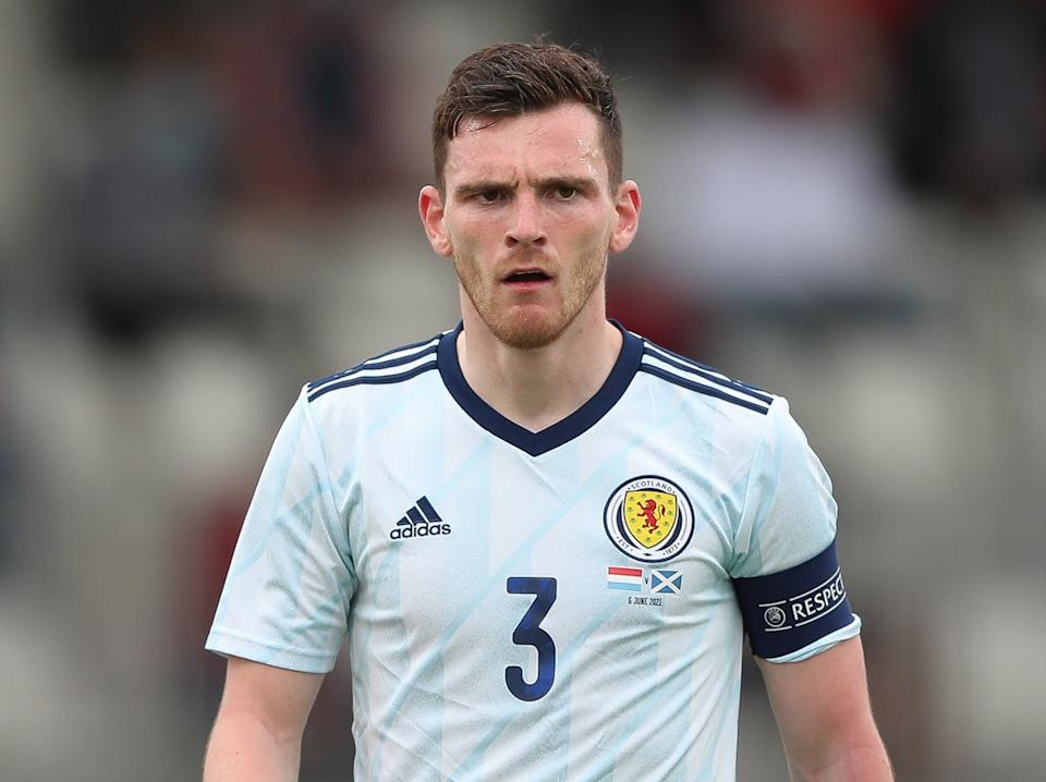 Scotland captain Andy Robertson (Getty Images)