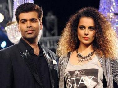 Karan Johar says he would 'surely' direct Kangana Ranaut, dubs her as 'one of the best actresses we have'