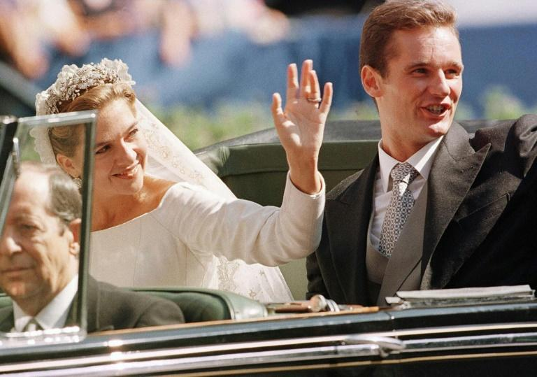 Princess Cristina of Spain married Inaki Urdangarin in 1997