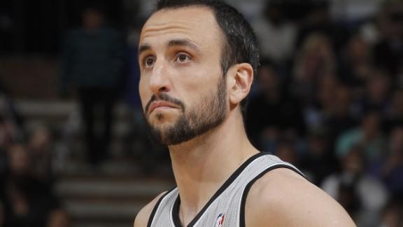 Manu Ginobili hits game-winning 3 in double OT, caps Spurs' wild Game 1 win over Warriors (Video)