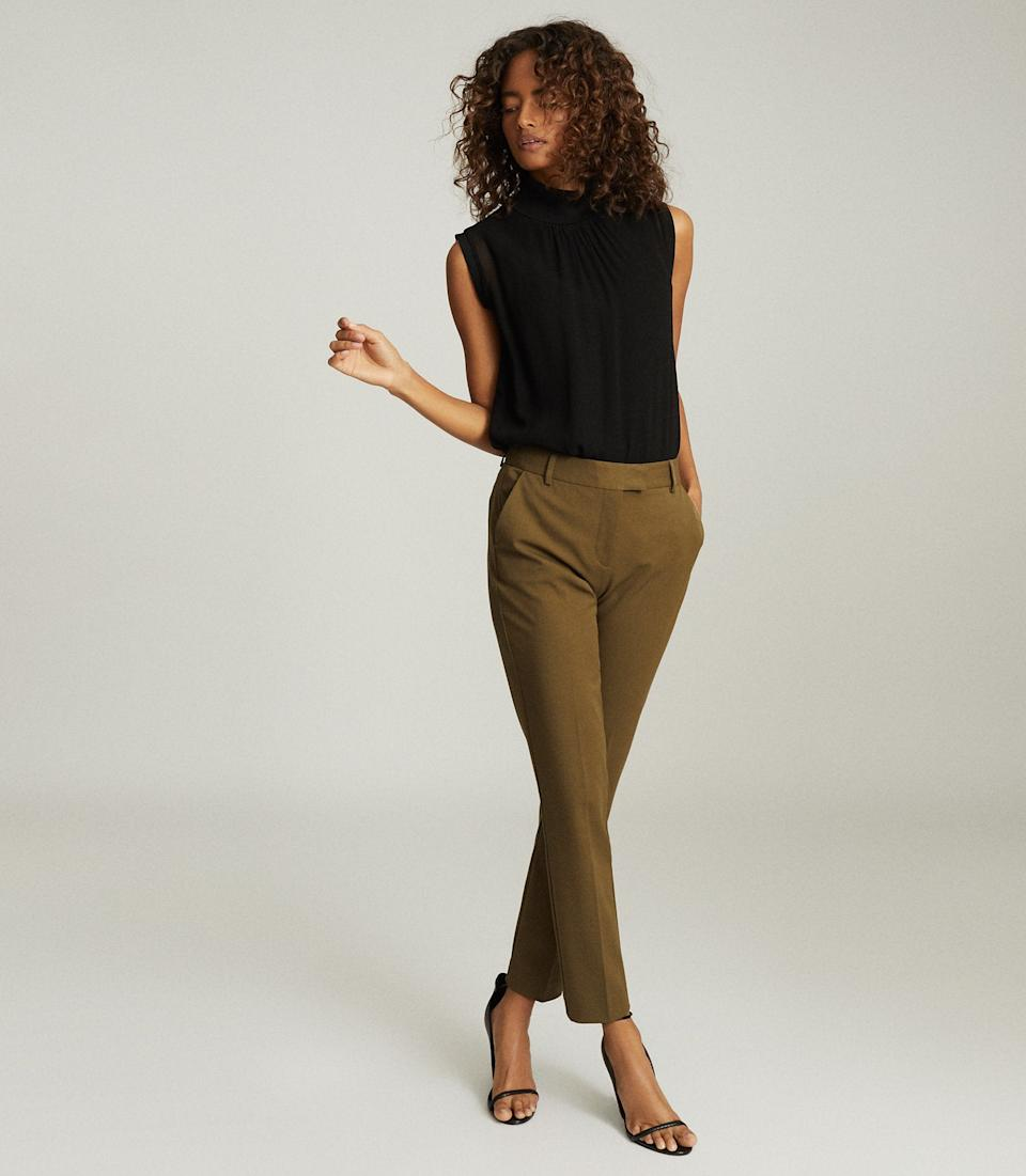 Joanne Slim Fit Tailored Trousers. Was $230, now $94