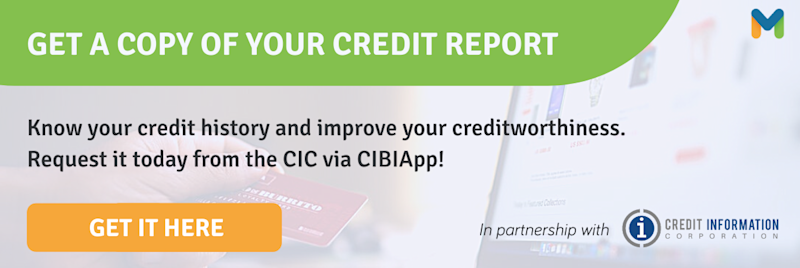 Get a copy of your credit report online!