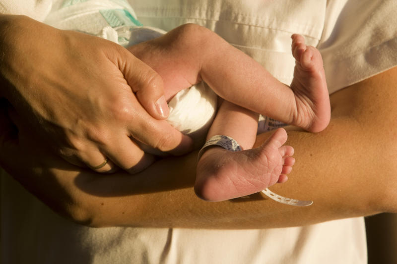 The baby survived and has not been tested for COVID-19. The mother's death left Whittington Hospital staff in tears.