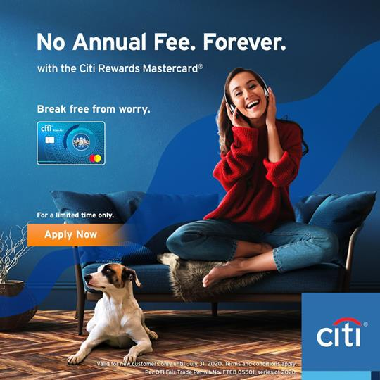 Credit Card Promos 2020 - No Annual Fees Forever