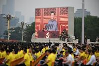 The era of China 'being slaughtered and bullied is gone forever,' said Chinese President Xi Jinping