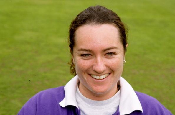 3 Jul 1998:  Portrait of Australia Vice-Captain Karen Rolton before a tour match against England at Lord's in London. \ Mandatory Credit: Craig  Prentis/Allsport