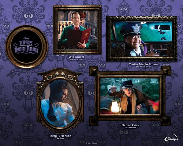 Muppets Haunted Mansion Cast Photos