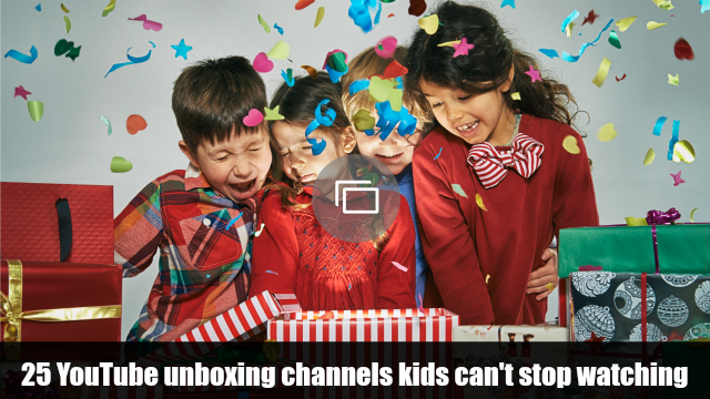 unboxing YouTube channels