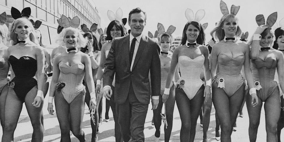 <p>RIP to the man in the robe. Going as Hef, Holly, Kendra, and Bridget — or just Playboy Bunnies — is one costume everyone at the party will immediately get.</p>