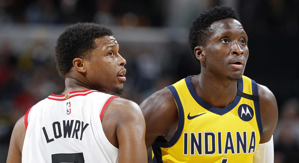 Victor Oladipo apparently wants to get the hell out of Indiana. (Photo by Joe Robbins/Getty Images)
