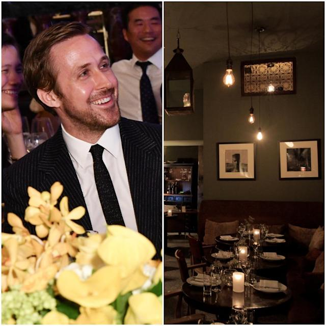"<p>The Canadian actor co-owns high-end Moroccan eatery <a href=""http://www.taginebeverlyhills.com/"" rel=""nofollow noopener"" target=""_blank"" data-ylk=""slk:Tagine"" class=""link rapid-noclick-resp"">Tagine</a> in Beverly Hills, Los Angeles. The decor features a candle-lit banquette with Moroccan pillows and the menu offers three different tasting menus (chef's, vegetarian and pescetarian) as well as a la carte.<br>(Canadian Press/Tagine) </p>"