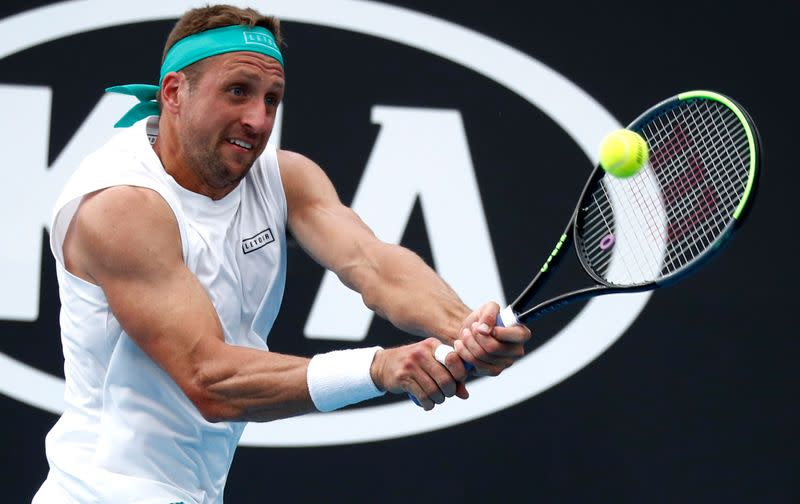 Tennys is back! Sandgren downs eighth seed Berrettini in five sets