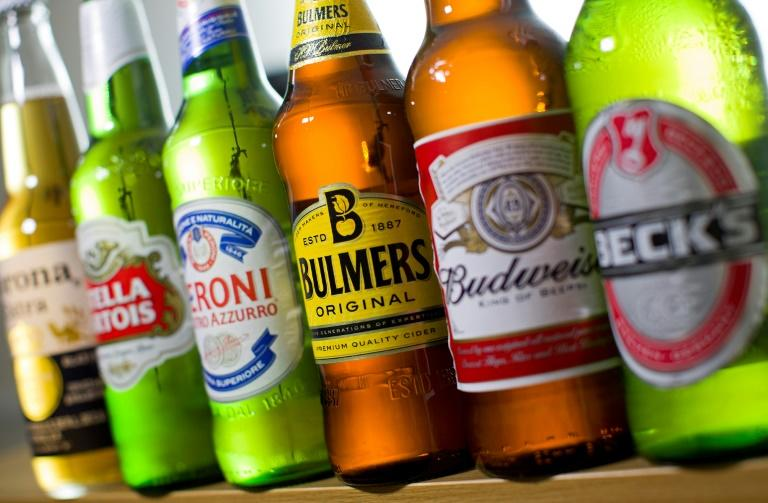 Belgian-Brazilian group Anheuser-Busch InBev is the world's largest brewer, producing Stella Artois and Budweiser among other major brands
