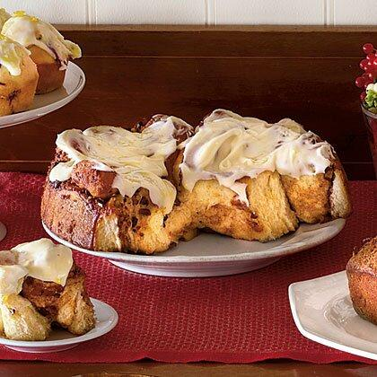 """<p>The butter you spread on the rolled-out dough should be very soft so that the dough won't tear.</p> <p><a href=""""https://www.myrecipes.com/recipe/cinnamon-rolls-3"""">Cinnamon Rolls with Cream Cheese Icing Recipe</a></p>"""