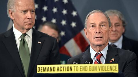 gty michael bloomberg ll 130409 wblog Bloombergs Gun Group to Even Score With Lawmakers