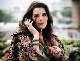 Queen of food porn Nigella Lawson looks regal in a Sabyasachi ensemble; see pics