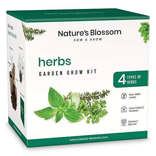 """<p><strong>Nature's Blossom</strong></p><p>amazon.com</p><p><strong>$19.99</strong></p><p><a href=""""https://www.amazon.com/dp/B07ZN42MNL?tag=syn-yahoo-20&ascsubtag=%5Bartid%7C2141.g.37514083%5Bsrc%7Cyahoo-us"""" rel=""""nofollow noopener"""" target=""""_blank"""" data-ylk=""""slk:Shop Now"""" class=""""link rapid-noclick-resp"""">Shop Now</a></p><p>Whether or not your Secret Santa recipient has a green thumb, this herb grow kit is a great gift because<strong> it's easy, compact, and who doesn't love fresh herbs?</strong> Once they flourish, they'll level-up dinners for months to come. </p>"""