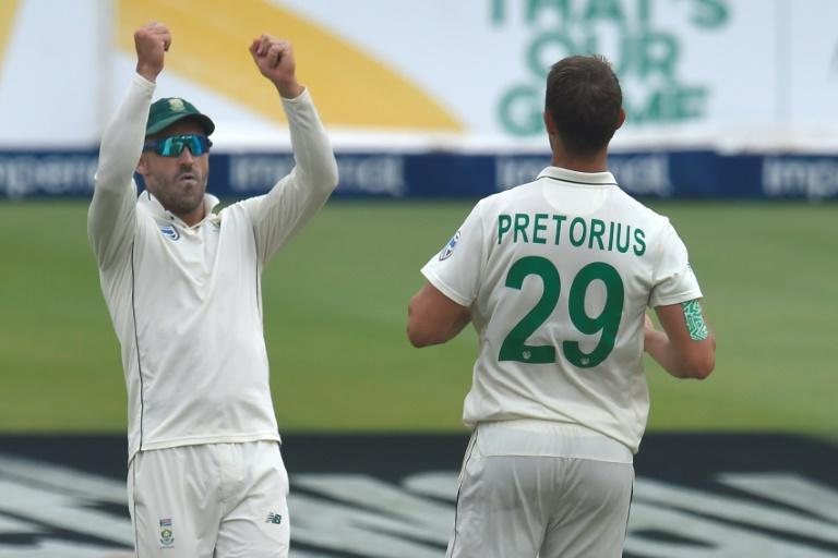 Faf du Plessis has played 65 Tests for South Africa since his debut in 2012 (AFP Photo/Christiaan Kotze )