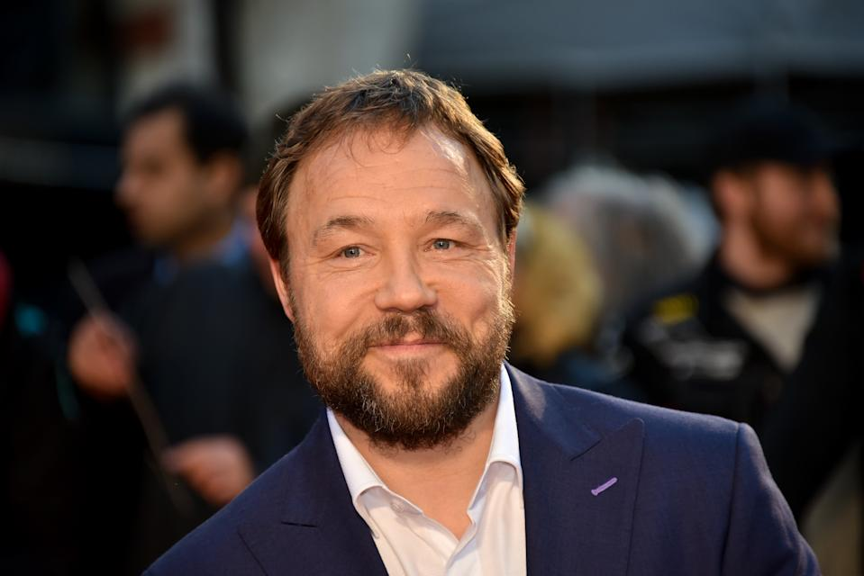 Stephen Graham attends The Irishman International Premiere and Closing Gala during the 63rd BFI London Film Festival at the Odeon Luxe Leicester Square on October 13, 2019 in London, England.  (Photo by Alberto Pezzali/NurPhoto via Getty Images)