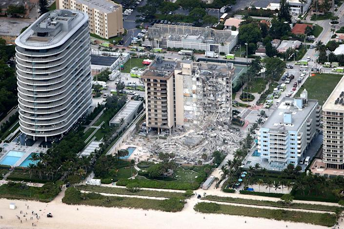 Image: Residential Building In Miami Partially Collapsed (Joe Raedle / Getty Images file)
