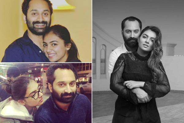 Nazriya Nazim And Fahadh Faasil The Most Celebrated Star Couple Of