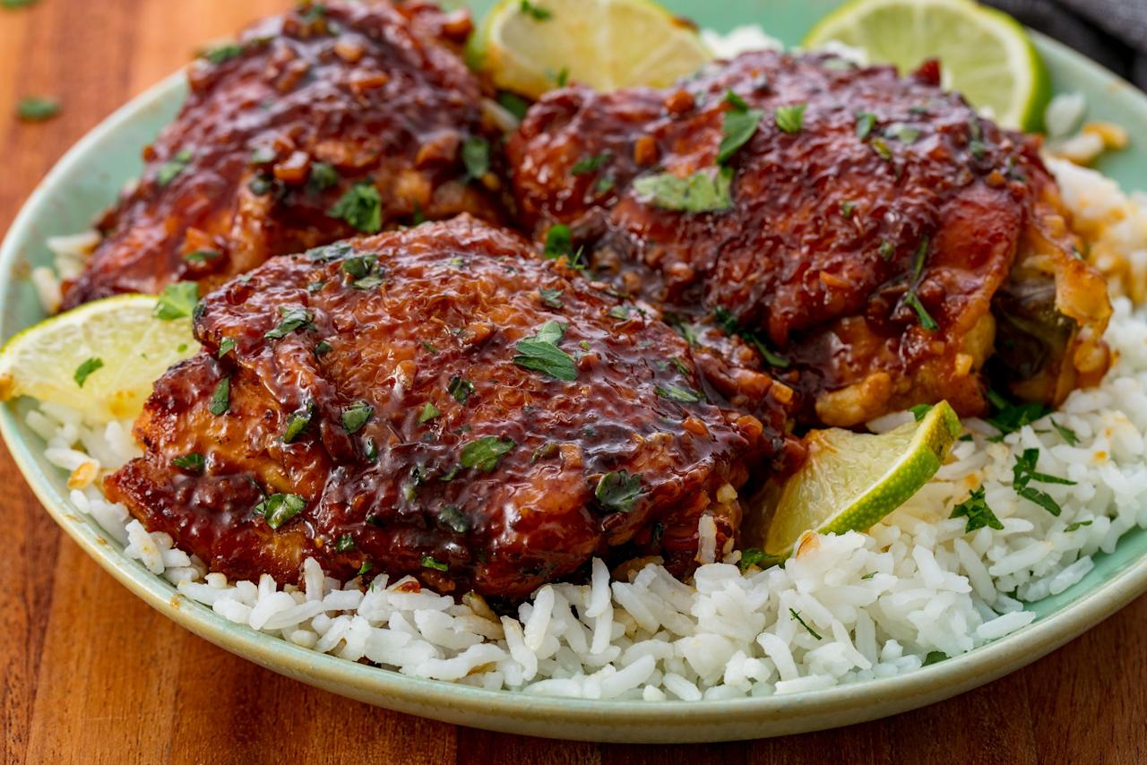 """<p>Want crazy good flavor? Cook with chicken thighs instead of breasts. You won't be sorry.</p><p>Check out all our <a href=""""http://www.delish.com/chicken-breast-recipes/"""">favorite recipes for chicken breast</a> for more easy dinner ideas.</p>"""